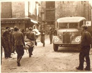 guerra civil Barcelona