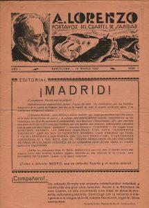 1 Cuartel Sanidad nº 1  1937 1