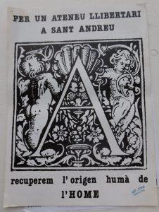 ateneu LLibertàri Sant Andreu