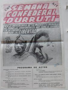 Semana confederal Durruti