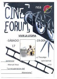 Cine Forum en la Rea