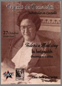 Frederica Montseny, Anarquisme